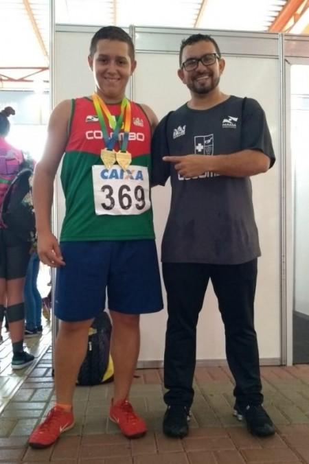 Atleta de Osvaldo Cruz é campeão em duas modalidades no Atletismo do Paraná