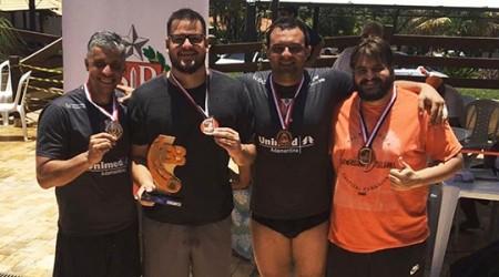 Biribol de Adamantina consegue bronze nos Jogos Abertos do Interior em Marília
