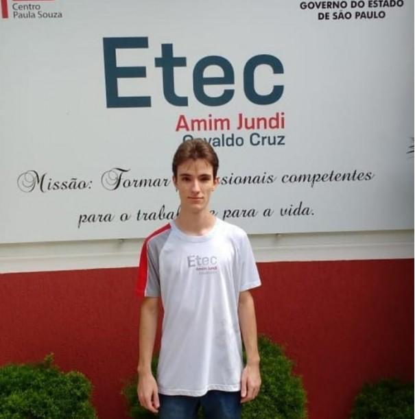 Aluno da Etec Amim Jundi de Osvaldo Cruz foi premiado com medalha de ouro em Olimpíada de Matemática