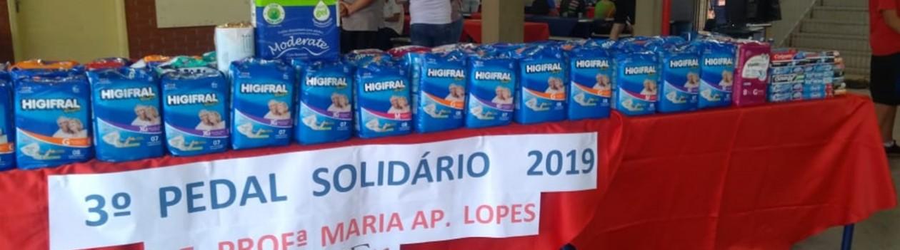 Escola Maria Aparecida Lopes realiza 3º Pedal Solidário
