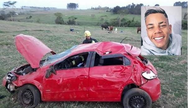 Jovem vítima de acidente segue internado e apresenta melhoras