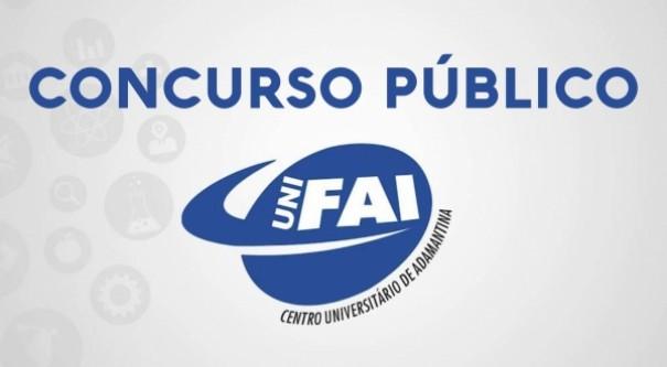 UniFAI abre vagas para concurso público e processo seletivo