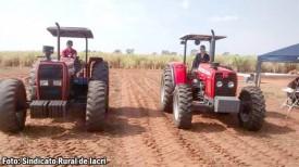 Sindicato Rural de Iacri realizará cursos de mel na gastronomia e manutenção e operação de tratores agrícolas