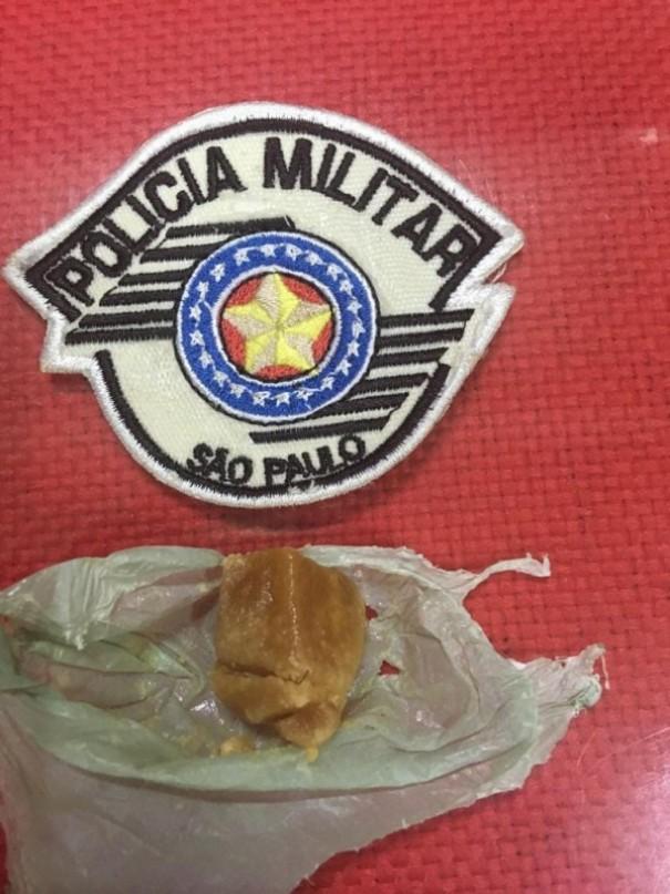 Polícia Militar registra ocorrência de porte de entorpecente no Terminal Rodoviário de OC