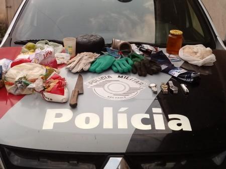 Polícia Militar de Osvaldo Cruz prende três homens por furto em propriedade rural no Bairro 3 Pontes