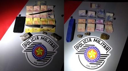 PM prende vendedor e fornecedor de drogas em Adamantina