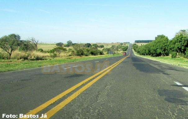 Menor atropelada é localizada caída em rodovia que liga Bastos e Iacri