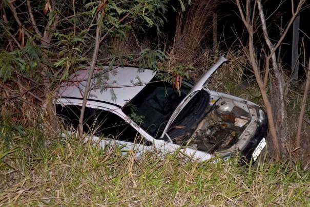 Corpo de Bombeiros de OC registra acidente de trânsito na SP-294, em Parapuã