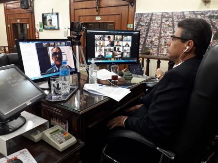Câmara Municipal de Tupã realiza sessão por videoconferência nesta segunda (27)