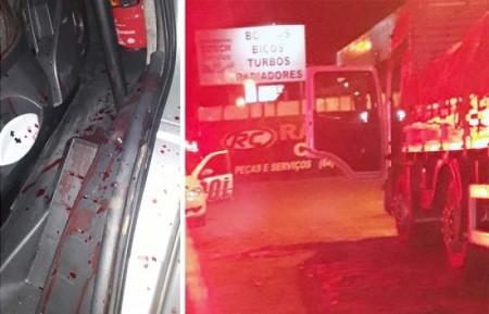 Caminhoneiros de Tupã reagem a assalto e mata bandido em Itumbiara, no Estado de Goiás