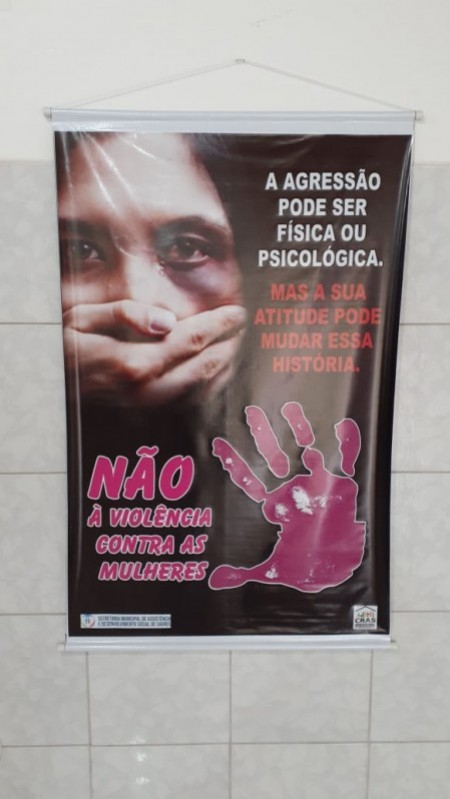 Cras de Sagres realiza ação de Não Violência Contra as Mulheres