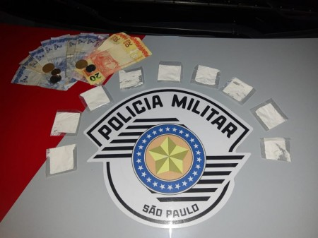 Homem é preso pela PM em Osvaldo Cruz, após vender drogas para moradores de Inubia Paulista