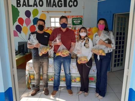 Projeto Balão Mágico e Prefeitura de Sagres realizam programa Alimentação Saudável em Tempo de Pandemia