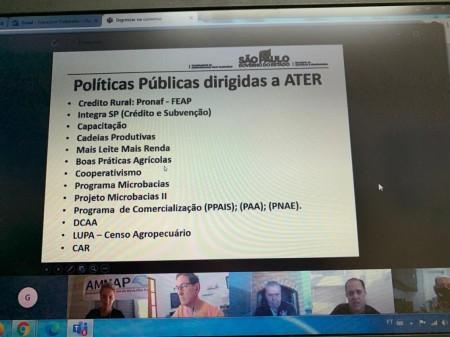 Reunião virtual discute impactos da pandemia na agricultura regional