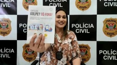 Cartilha criada por policial civil orienta público sobre mais de dez modalidades de golpes