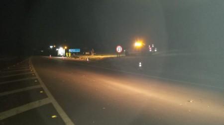 Capotamento de veículo na SP-294 deixa homem ferido em Paulicéia