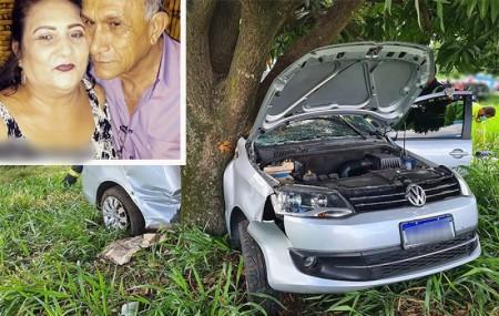 Casal morador em Tupã morre em acidente na SP-294, no trecho Iacri - Tupã