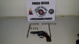 Pai e filho são presos em flagrante após tentativa de homicídio em Presidente Prudente