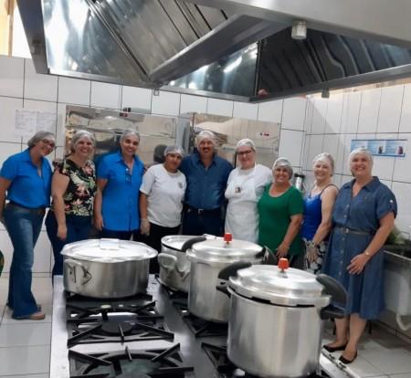 Escola Max Wirth recebe cozinha reformada, equipada e ampliada para início do ano letivo 2020