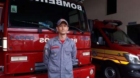 Estação de Bombeiros de Osvaldo Cruz tem novo comandante