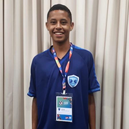 Jogador do Azulão é mais novo da 51ª da Copa São Paulo de Futebol Júnior