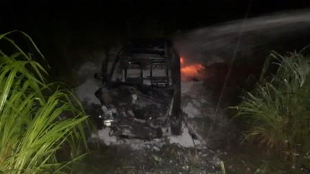 Acidente entre dois veículos deixa oito vítimas na SP-425, em Parapuã