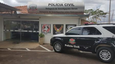 Polícia Civil captura em Dracena rapaz condenado pela Justiça a 4 anos de prisão por crime de roubo