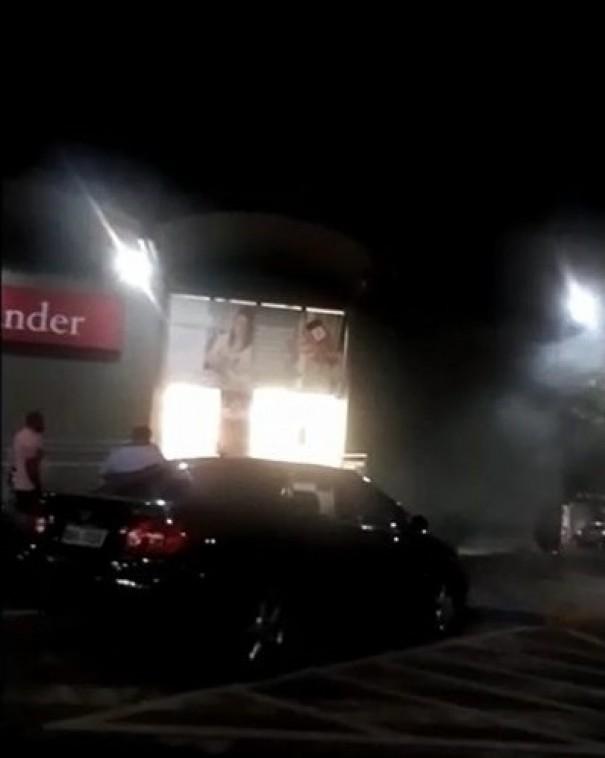 Fumaça no interior de banco de Adamantina assusta população que pensa ser incêndio