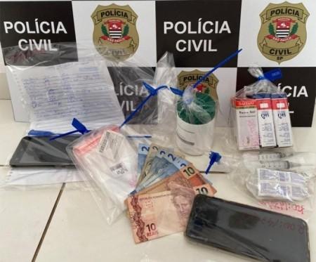 Nova fase da 'Operação Xeque-Mate' da Polícia Civil apreende drogas, medicamentos e anabolizantes em Tupã