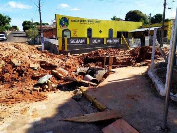 Prefeitura de OC investe R$ 325 mil em galeria para acabar com enchentes na região do Detran