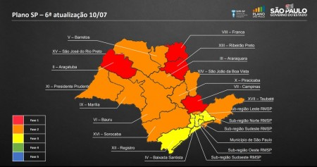 Osvaldo Cruz avança para a fase laranja no plano de flexibilização da quarentena
