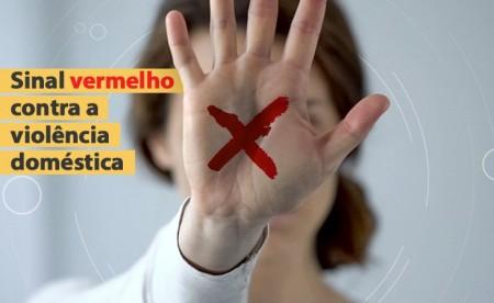 Campanha 'Sinal Vermelho' vítimas de violência doméstica podem pedir ajuda em farmácias da região