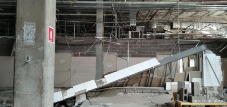 Crea-SP fiscaliza imóvel e abre processo administrativo para apurar responsabilidade por queda de parede que matou 4 operários