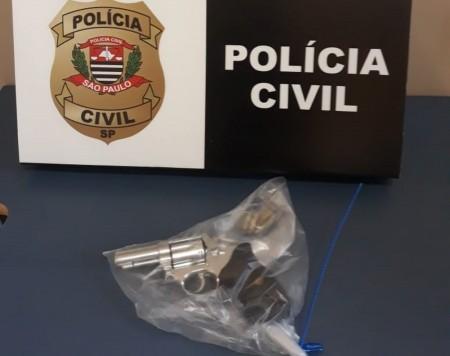 Suspeito de matar a tiros homem em Martinópolis se apresenta à polícia e entrega arma de fogo