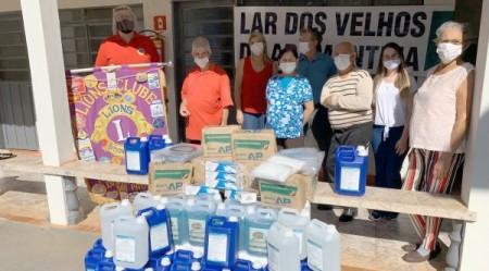 Fundação Internacional de Lions repassa R$ 55 mil ao Distrito e atende asilos de Adamantina e região