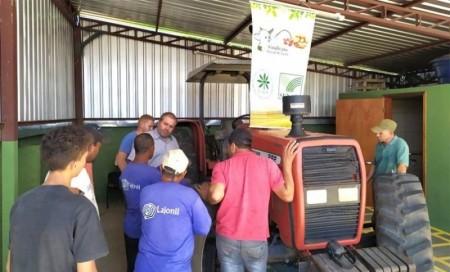 Sindicato Rural de Iacri recebe inscrição para curso de manutenção e operação de tratores agrícolas