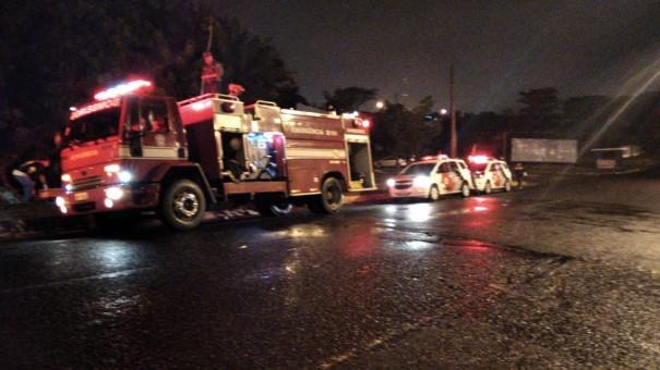 Acidente deixa três mulheres feridas em Osvaldo Cruz