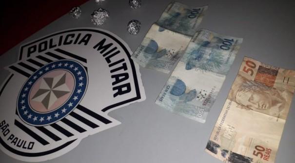 Homem é preso pela Polícia Militar em Lucélia por tráfico de drogas