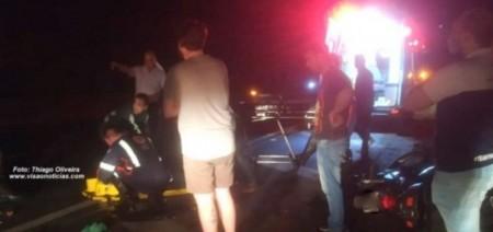 Motociclista fica gravemente ferido em acidente em Marília