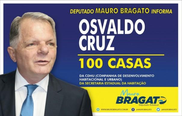 Osvaldo Cruz deve receber novas moradias da CDHU