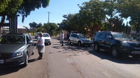 Recorde: 4.500 veículos de outras cidades passaram pela barreira sanitária em Tupã