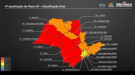 Municípios do Oeste Paulista permanecem na fase vermelha da flexibilização da quarentena