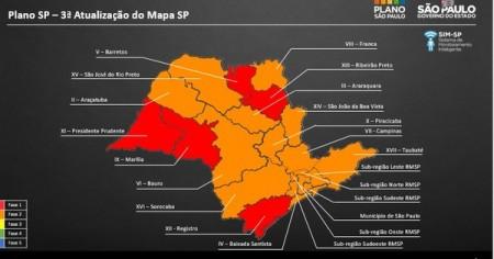 Estado anuncia que Osvaldo Cruz vai recuar para fase vermelha na flexibilização da quarentena