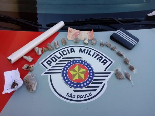 Traficante é preso em flagrante pela Polícia Militar em Osvaldo Cruz