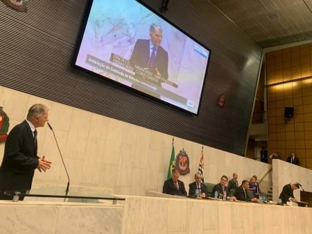Mauro Bragato é membro da Comissão de Relações Internacionais da Alesp