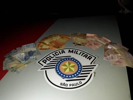 Força Tática da Polícia Militar prende autor de roubo a posto de combustível de Panorama