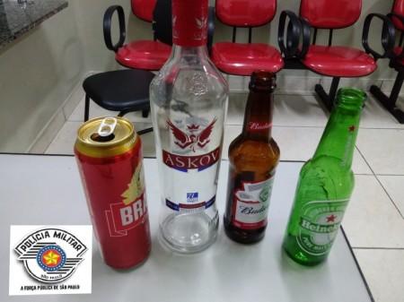 Polícia Militar recebe denúncia de festa que fornecia bebida alcoólica para menores em OC