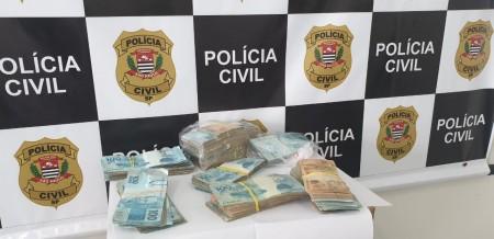 'Operação Atoleiro' recupera quase R$80 mil, em Pacaembu