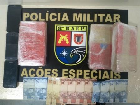 Baep encontra cocaína escondida em forros de portas de veículo e condutor acaba preso em Pirapozinho