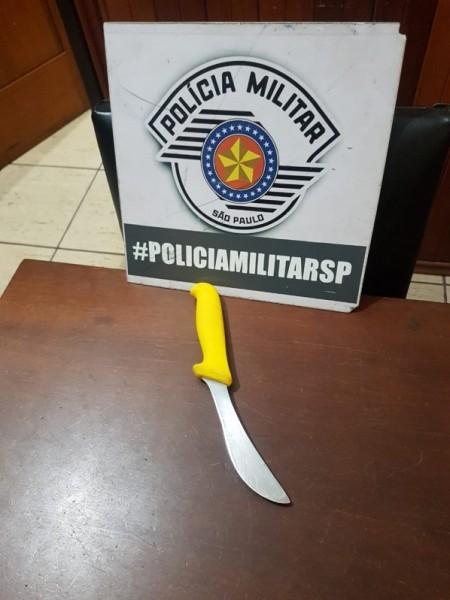 Polícia Militar localiza e prende homem em flagrante por tentativa de homicídio, em Tupi Paulista